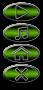 Sphinx-Buttons-gruenglitzer
